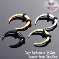 14g or 16g Septum Taper