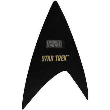 14 inch Star Trek Delta Shield Digital Wall Clock