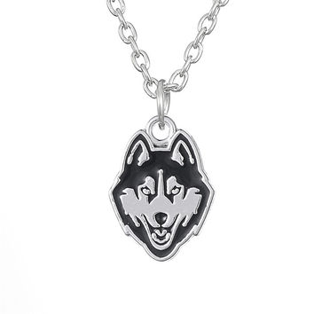 A Winning Husky Pendant Necklace