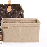 LV speedy bag insert with key chain