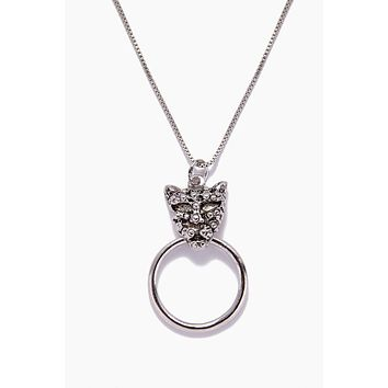 The Panther Necklace - Silver