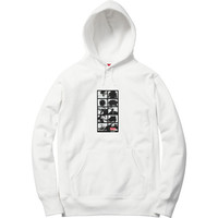 Supreme: Sumo Hooded Sweatshirt - White