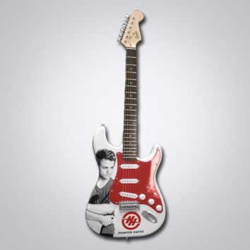 Hunter Hayes Autographed Guitar