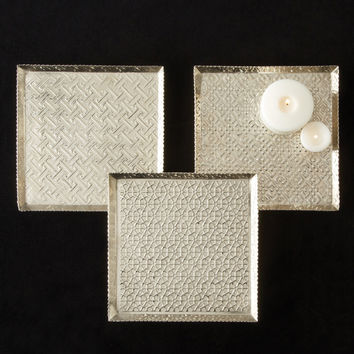 Estampille Patterned Trays Set