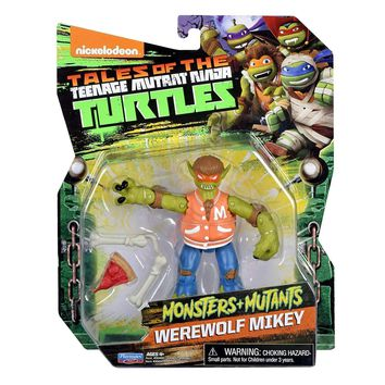 Werewolf Mikey Tales of the Teenage Mutant Ninja Turtles Figure TMNT Playmates