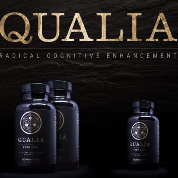 Qualia - Radical Cognitive Enhancement - Available in 1 week sample or 1 month supply