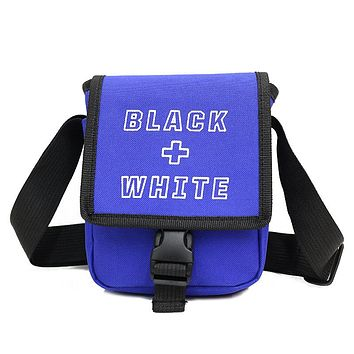Men And Women Casual Travel Cross body Bag  Men's  Shoulder Bag Messenger  Hip-hop Shoulder Bags