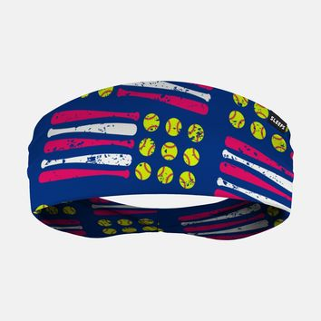 Softballs and Bats Headband