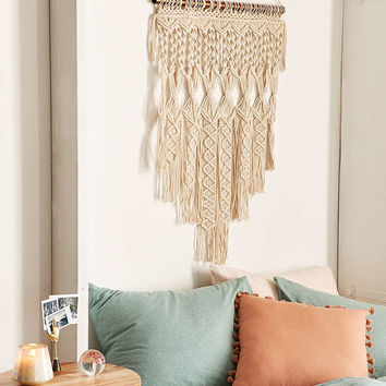 Penny Woven Macrame Wall Hanging - Urban Outfitters