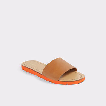 Gwayni Natural Women's Slides | ALDO US