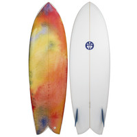"Regular Surfboards Keel Fish 6'0"" Surfboard"
