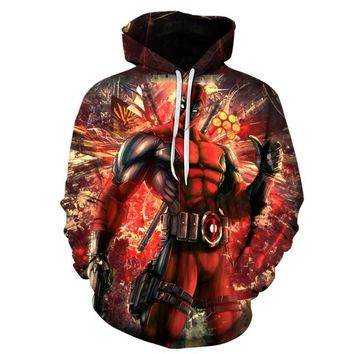 Deadpool Dead pool Taco 2018 Newest Men Women 3D Printed Hoodies Detective   Unisex  Sweatshirt Fashion Casual funny Hoody tops 5xl 6xl AT_70_6
