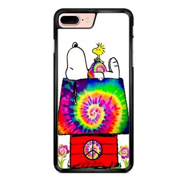 Snoopy And Woodstock Tie Dye iPhone 7 Plus Case