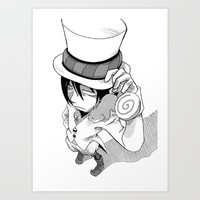 Mephisto Art Print by PsychoDelicia