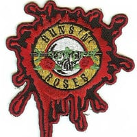 Guns n' Roses Iron-On Patch Bullet Hole Logo