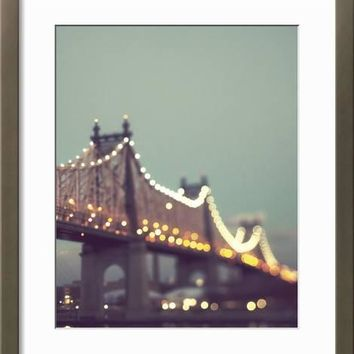 New York Explorer II Art Print by Irene Suchocki at Art.com