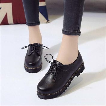 2018 High Quality Martin Boots Autumn Winter Shoes Woman Fashion Vintage Lacing Female Womens Boots botas ug australia mujer