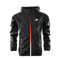 NIKE Women Cardigan Jacket Coat Windbreaker