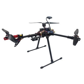 RTF Full Kit HMF Y600 Tricopter Copter Hexacopter APM2.8 GPS Drone with Motor ESC AT10 TX&RX F10811-E