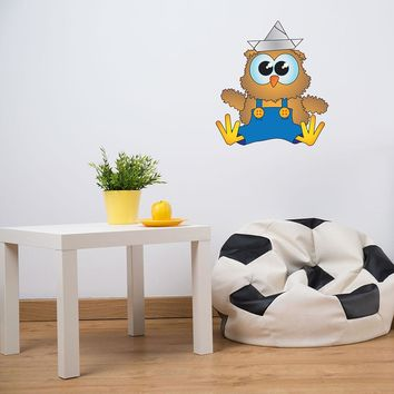 Baby Owl Wall Decal