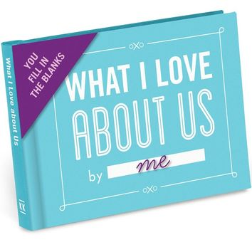 What I Love About Us - Fill In The Love Journal