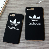 """Adidas"" Printed Sports Cover Case For Iphone 7  7 plus + Gift  Box"