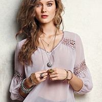 Crochet Peasant Blouse - Victoria's Secret