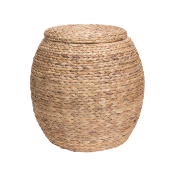 Household Essentials Ml-4105 Water Hyacinth Wicker Large Storage Basket