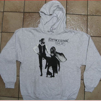 Fleetwood Mac  RUMORS Album Cover  Hoodie Hooded Sweatshirt