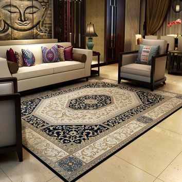 Traditional Chinese Vintage Rugs And Carpets For Home Living Room Classic Bedroom Floor Mat Large Study Room Area Rug/Carpet