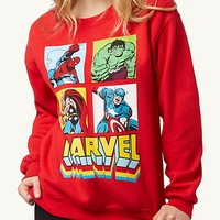 Marvel Grid Sweatshirt | Get Graphic | rue21