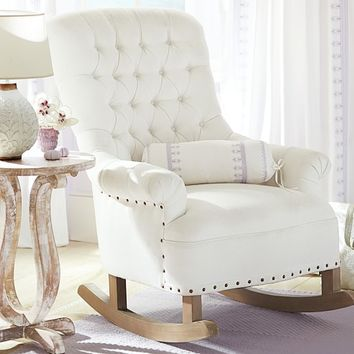 Radcliffe Rocker & Ottoman | Pottery Barn Kids