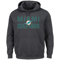 Miami Dolphins NFL Kick Return Hoodie (Charcoal)