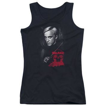 Harry Potter - Draco Portrait Juniors Tank Top Officially Licensed Apparel
