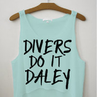 Divers do it Daley Tank Top