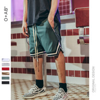Basketball Sports Zippers Shorts [10511261123]