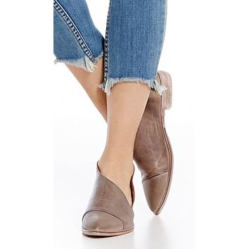 Free People Royale Flat Grey
