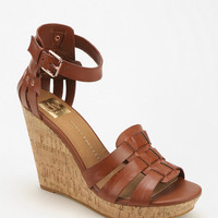 Dolce Vita Cadby Ankle-Wrap Wedge Sandal - Urban Outfitters