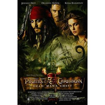 """Pirates Of The Caribbean Dead Man's Chest Poster 16""""x24"""" Art"""