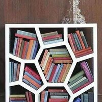 White Opus Bookcase - Sean Yoo