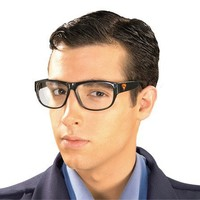 Rubies Costume Co Men's Man Of Steel Clark Kent Glasses Multicoloured One Size