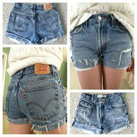 Levi High Waisted Shorts from Lizzii's ♥ Closet
