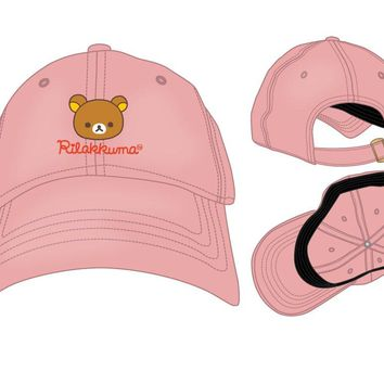Rilakkuma Bear San-X Adjustable Dad Hat