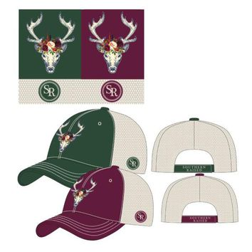 Hat Southern Raised Fancy Deer - 2 Color Choices