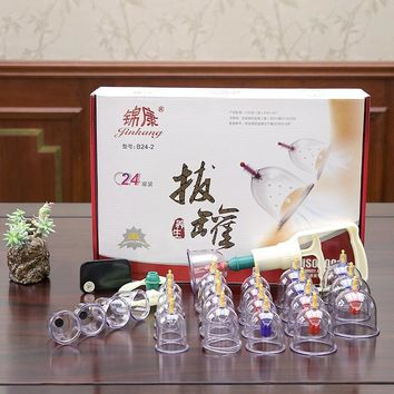 Acupuncture Vacuum Therapy Massage Cupping Pump
