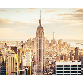 Brewster Wallpaper WR50540 New York Skyline Wall Mural