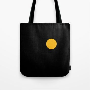 yellow point Tote Bag by netzauge