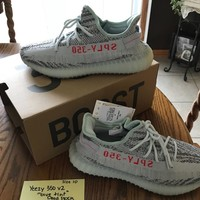 Yeezy Boost 350v2 Blue Tint, Authentic, Never Worn, Brand New, Size 10
