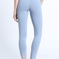 Sky Blue Workout Leggings