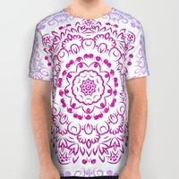 A Glittering Colorful Mandala 2 All Over Print Shirt by Octavia Soldani | Society6